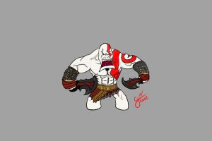 Kratos hates you. by gianenci