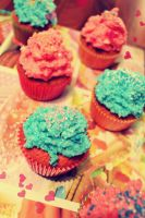 cupcakes you love by Childofvintage