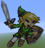 Minecraft - Link by Unstable-Life
