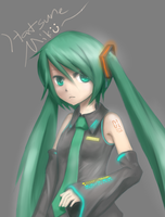 Miku Again by HamCrumbs