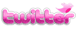 Logo Twitter PNG Pink by MFSyRCM