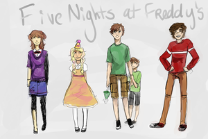 Five Nights At Freddies by rogues-fox