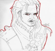 7 19 2013 Geralt of Rivia by MyThoughtsAreDeep