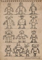 ROBOTZ Concepts by radu-jm by Robot-drawing-club