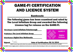Bamboozle Game-Fi Certificate by LevelInfinitum