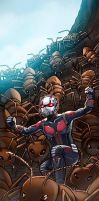 Ant-Man Panel Art by RichBernatovech