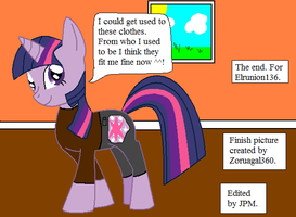 Twilight Sparkle Sting TF pt.11 by thetrans4master