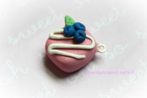 sweet strawberry petit four by CandyStripedCafe