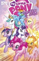 My Little Pony Ish3 variant cover by J-Scott-Campbell