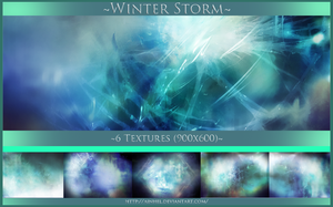 #9 Texture Pack (900x600) - Winter Storm by Ainhel