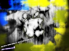 creative apple wallpaper by jaysnanavati