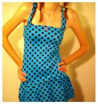 Polka Dot Spandex Top by deconstructedstars