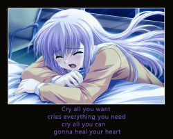 Cry by agarest-of-war