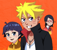 Naruto: Children by Gintara