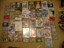 My Video Game Collection by Firestormxx