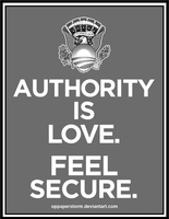 Authority Is Love by OpPaperStorm
