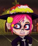 Little Purple catrina by Rene-L