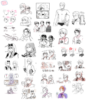 FB and Twitter APH Dump by Cioccolatodorima