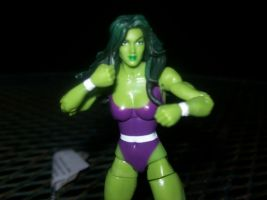 She Hulk by lovefistfury