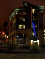 HDR Building Night by N1ghtf4ll3r