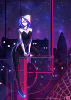 Spider-gwen by Helixel