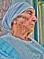 My GrandMother by Aminebjd