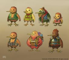 LOTS - Kiwar character design by d-torres