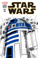 Sketch cover - STAR WARS #1 R2d2 by redknightz01