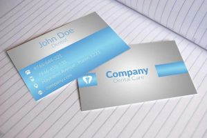 Free Dental Business Cards Design by BorceMarkoski