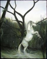 Kelpie - white by estellea
