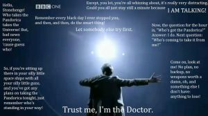 The Doctor: The Pandorica by pandagirl1995