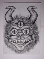 monster the 3 eye by sugimancung