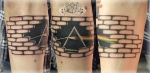 Pink Floyd by state-of-art-tattoo