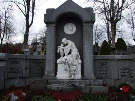 cemetary - statue 1 by sacral-stock