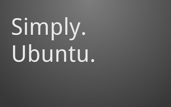 Simply. Ubuntu. Dark by MrElemental