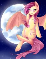 Flutterbat (MLP) by SweetAbby1624