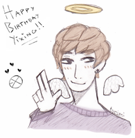 HAPPY BIRTHDAY LAY by limpidtears