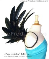 eps Black JULIETTA Side WINGS by eProductSales