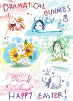 -- Dramatical Bunnies -- by Kurama-chan