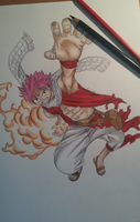 Fairy Tail: Natsu Dragneel by Kimiko675