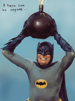 Batman and the bomb by clc1997