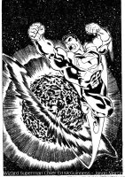 Wizard Superman Cover by JPMartin