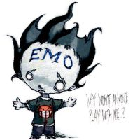 emo kid by tobiee