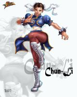 Chun-Li by holyghost13th