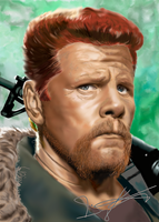 Abraham - The Walking Dead by VooDooDad