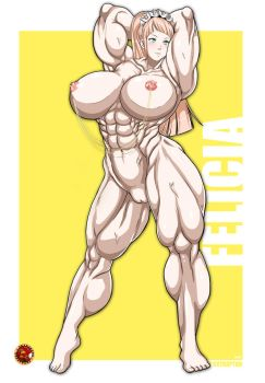 Maid of Muscle by Ablox