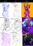 Switcharound Meme (with Ghostosphere and Artrees) by Dali-Puff