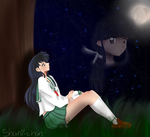 Kagome's Thoughts by xShani-chanx