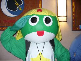 Keroro at the Con by TheWildeOne