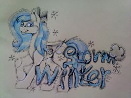 (AT) (2/2) OC,Winter Storm by PurpleWish23
